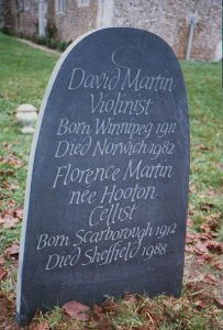 hand carved slate memorial