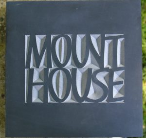 hand carved welsh slate