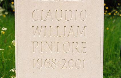 portland stone headstone